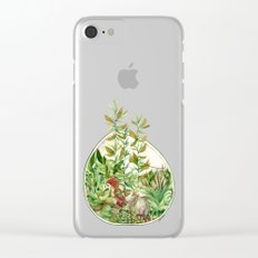Terrarium Clear iPhone Case