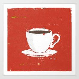 Cafè Art Print