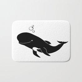 Short-finned pilot whale Bath Mat