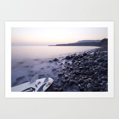 Kimmeridge bay Art Print