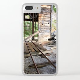 Exploring the Longfellow Mine of the Gold Rush - A Series, No. 8 of 9 Clear iPhone Case