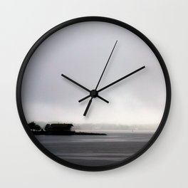 Storm Warning Wall Clock