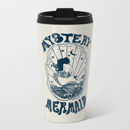 MYSTERY MERMAID Metal Travel Mug