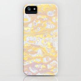 Baesic Wet Paint Gold iPhone Case