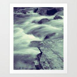 Djur-Djur Waterfall VII Art Print