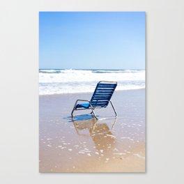 oceanside seat Canvas Print