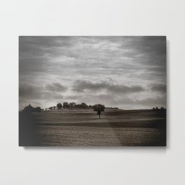 Lonely Tuscan Tree Metal Print