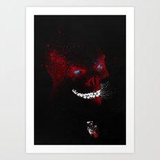 The Red Devil Art Print