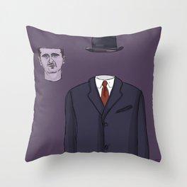 """""""The Unwanted Pilgrim"""" (Syria) Throw Pillow"""
