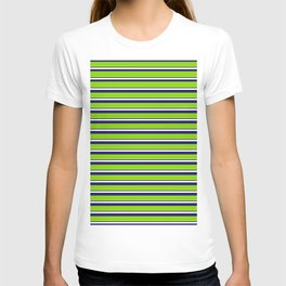 Green Stripes of Spring T-shirt