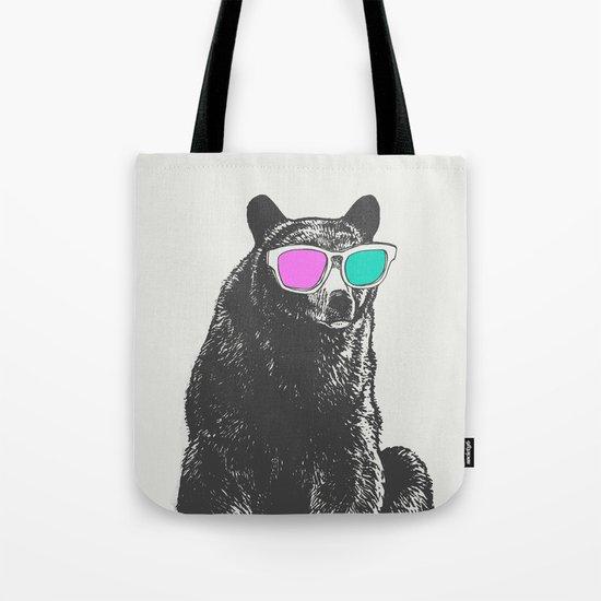 3D is Un-bear-able  Tote Bag