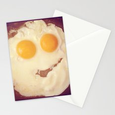 smiley egg Stationery Cards