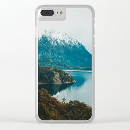 Moreno Lake, Bariloche Clear iPhone Case