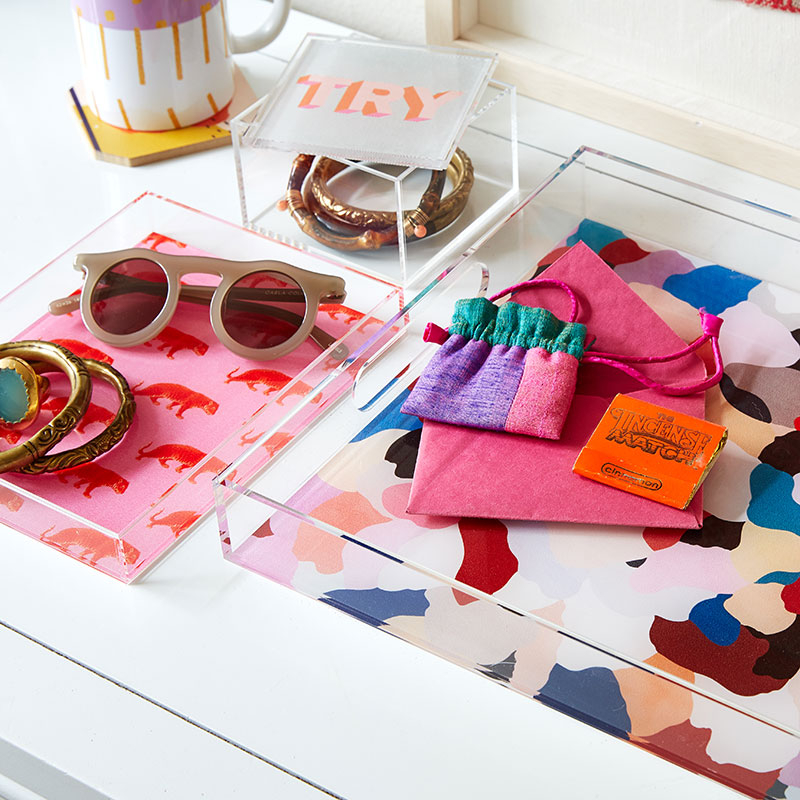 Shop Trending Acrylic Trays and Boxes