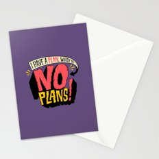 I have a plan... Stationery Cards