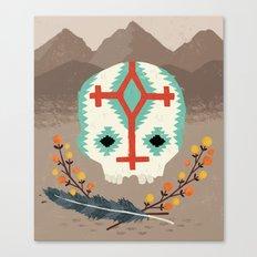 Desert Skull Canvas Print