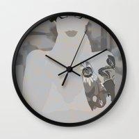 pool Wall Clocks featuring pool by frtortora