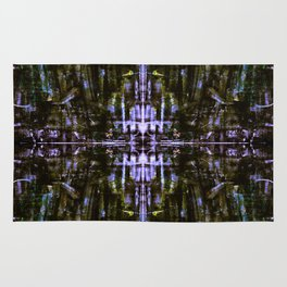 The Grunge Edit Mirrored Rug