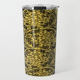Primrose Yellow Lace Travel Mug