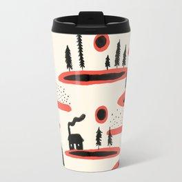 Woodland Cabin Travel Mug