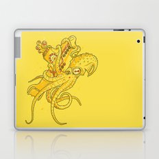 the Yellow Kracken Laptop & iPad Skin