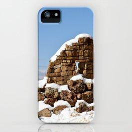 Desert View Watchtower. Grand Canyon. Arizona. USA. iPhone Case