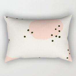 Spotted Pink Rectangular Pillow