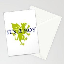 It's a Boy: Golden Dragon Stationery Cards
