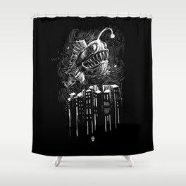 Underwater City Shower Curtain