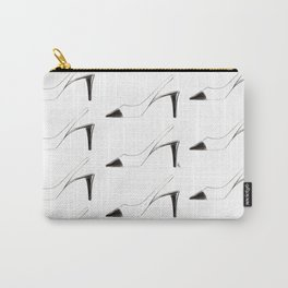Black & White shoes Carry-All Pouch