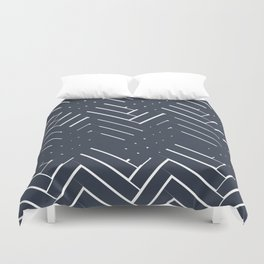brick composition BB Duvet Cover