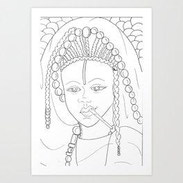 Toucouleur Art Print