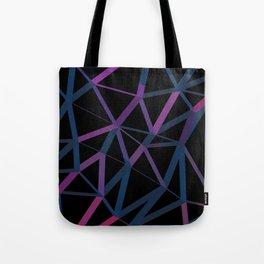 3D Futuristic GEO Lines Tote Bag