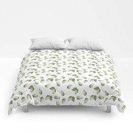 Watercolour Avocado Pattern Comforters