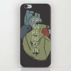 BOOKS COLLECTION: Frankenstein iPhone Skin