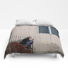 Brooklyn Streets Comforters