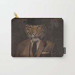 The pipe smoking Gentle Tiger Carry-All Pouch