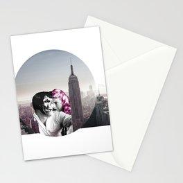 NY Love Story - Grey Stationery Cards
