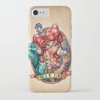 bar iPhone & iPod Cases featuring SIREN by Tim Shumate