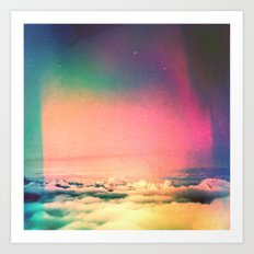 Soft Clouds Art Print