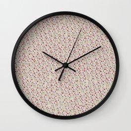 Angry Teddy Wall Clock