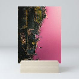 Rare Pink Lake in Spain - V2 Mini Art Print