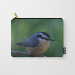 A Red Breasted Nuthatch Carry-All Pouch