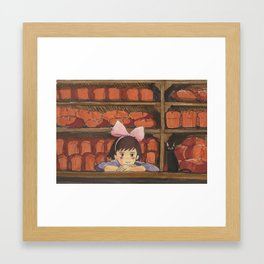 KIKI BREAD SHOP Framed Art Print