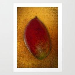 Egyptian Mango Art Print