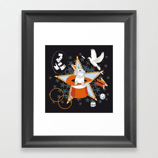 Magic Show Framed Art Print