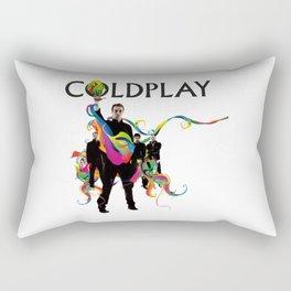 ColdplayCircle Rectangular Pillow