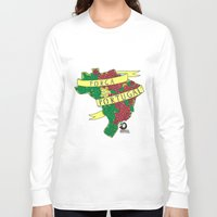 portugal Long Sleeve T-shirts featuring Força Portugal by iso. isodesignworld