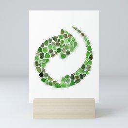 Sea glass - recycled Mini Art Print