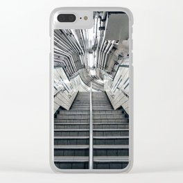 9th Street Station / PATH Clear iPhone Case